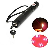 E-303B blocabil laser pointer rosu (3mW, 650nm, 1x18650, negru)