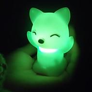 1pç Luz noturna 3D Bateria Impermeável
