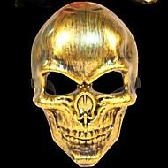 luuranko soturi 3 muovista naamiaispuku puolue halloween naamio (random väri)