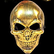 războinic schelet 3 material plastic partid rochie fancy de Halloween masca (culoare aleatorii)