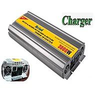 meind® inverter 3000W med oplader 12V DC til 220V konverter bil invertere strømforsyning m3000cd