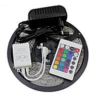 ieftine -W Fâșii De Becuri LEd Flexibile Bare De Becuri LED Rigide Fâșii RGB lm AC100-240 5 m led-uri RGB