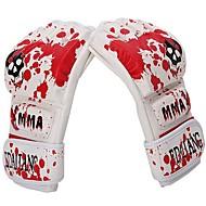 Boks Eğitim Eldivenlerİ Zápasnické rukavice MMA Boxerské rukavice Boxovací rukavice pro Bojová umění Bez prstůProdyšné Odolný proti