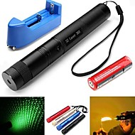 cheap Laser Pointers-Pen Shaped Laser Pointer 532NM Stainless Steel