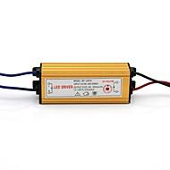 9-12X1W  Driver Transformateur LED Externe Alimentation AC100-240V à DC 27-45V avec boîtier en aluminium