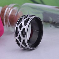 cheap Customized Apparel Accessories-Personalized Gift Men's Ring Stainless Steel Engraved Jewelry