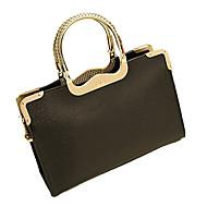 cheap Clearance-Weixiaohudie Elegant Retro Tote Crossbody Bag (Black)