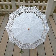 "billiga Brudparaplyer-Spets Bröllop Dagligen Maskerad Strand Paraply Paraplyer 30.7""(ca. 78cm)"