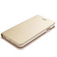 用途 iPhone 8 iPhone 8 Plus iPhone 7 iPhone 7 Plus iPhone 6 iPhone 6 Plus ケース カバー カードホルダー スタンド付き フリップ フルボディー ケース 純色 ハード PUレザー のために Apple