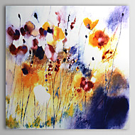 halpa -Maalattu Abstrakti 1 paneeli Kanvas Hang-Painted öljymaalaus For Kodinsisustus