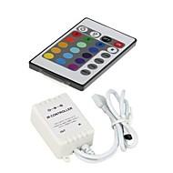 z®zdm 24 kláves dálkovým ovladačem pro RGB 3528smd 5050smd vedl pruh světla (12V 3x2a)