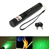 E-G303 se concentreze reglabil laser pointer verde (4MW. 532nm. 1 * 18650.black)