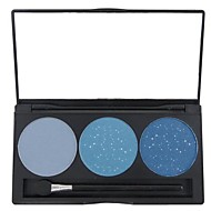 baratos Sombras-3 Paleta de Sombras Secos / Mate / Brilho / Mineral Paleta da sombra Pó Normal Maquiagem para o Dia A Dia