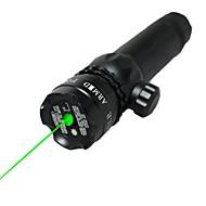 お買い得  レーザーポインター-LT-1008グリーンレーザーポインター(3MW、532nmの、1x16340、黒)
