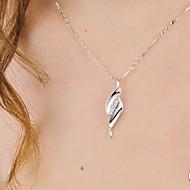 925 sølv vilge vedhæng med cubic zirconia klassisk feminin stil