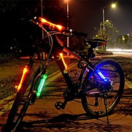 billige Sykkellykter og reflekser-Hodelykter Sykkellykter Frontlys til sykkel Baklys til sykkel hjul lys sikkerhet lys LED Sykling Justerbart Fokus 18650 Lumens Batteri