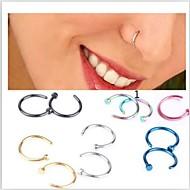 Žene Nakit za tijelo Nose Ring / Nose Stud / Nose Piercing Tikovina Pink Dark Blue Pink Zlatan Svjetloplav Jewelry Jedinstven dizajn Moda