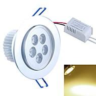 billige Innfelte LED-lys-SENCART 500-550lm Taklys Innfelt retropassform 5PCS LED perler COB Dekorativ Varm hvit 85-265V / CE / FCC