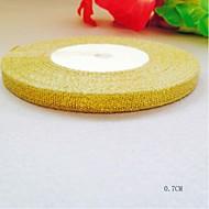 Tömör szín Poliészter Esküvői szalagok Darab / Set Szőtt szalag