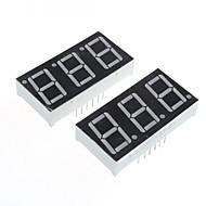 compatível (por arduino) de 3 dígitos de 12 pinos módulo display -. 0.56in (2pcs)