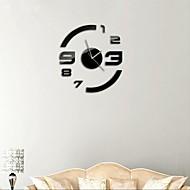 """21 """"h nowoczesny styl diy 3d naklejki lustra akrylowe zegary ścienne do sypialni powierzchni salonie"""