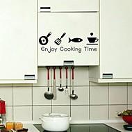 billiga Väggklistermärken-Väggklistermärken Väggklistermärke i svarta tavlanstil Dekrativa Väggstickers, Vinyl Hem-dekoration vägg~~POS=TRUNC Vägg