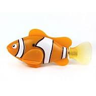 hesapli Havuz ve Su Eğlencesi-Elektronik Evcil Hayvanlar Su Oyuncakları Oyuncaklar Uzaktan Kontrol LED Işık Kediler Makina Plastik 1 Parçalar Hediye