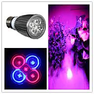 billige Spotlys med LED-5W 200-300 lm E26/E27 LED-spotpærer MR16 5 leds Høyeffekts-LED Lilla AC 85-265V