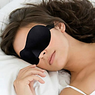 cheap -Travel Eye Mask / Sleep Mask 3D Portable Sun Shades Adjustable Comfortable Travel Rest Seamless Breathability 1set for Traveling