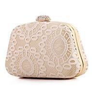 お買い得  クラッチバッグ&イブニングバッグ-女性用 バッグ ポリエステル イブニングバッグ レース のために イベント/パーティー オールシーズン ベージュ