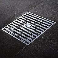 HPB®,排水口金具 クロム その他 10*10*4cm(3.9*3.9*1.6 inch) 真鍮 モダン