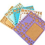 πρότυπο για διακόσμηση κάνουν quilling χαρτί DIY Τέχνη Τέχνη (τυχαία το χρώμα, 21x18cm)