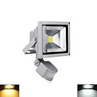 baratos Focos-20W Focos de LED 1 LED de Alta Potência 2800-6500 lm Branco Quente / Branco Frio Sensor AC 85-265 / AC 220-240 / AC 110-130 V 1 pç