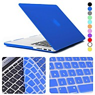 "Enkay Case for Macbook Pro 13.3"" with Retina display Solid Color Plastic Material Protective Keyboard Film and Case"