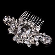 Legering Hair Combs / Hovedtøj med Blomster 1pc Bryllup / Speciel Lejlighed / Afslappet Medaljon