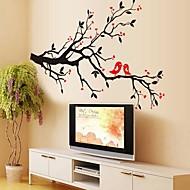 Dekorative Mur Klistermærker - Animal Wall Stickers Landskab / Dyr Stue / Soveværelse / Spisestue