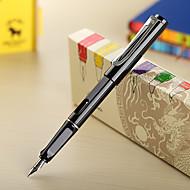 0,38mm musta muoti-liiketoiminta mustekynä kouluun / toimistoon