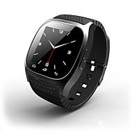 tanie Inteligentne zegarki-Inteligentny zegarek na iOS / Android Długi czas czuwania / Ekran dotykowy / Anti-lost / Sportowy Rejestrator aktywności fizycznej / Rejestrator snu / siedzący Przypomnienie / Wysokościomierz / 64 MB