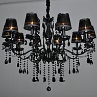 Vintage Moderne / Nutidig Traditionel / Klassisk Retro Rød Lanterne Land Globus Lysekroner Til Stue Pære ikke Inkludert