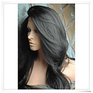 Parrucche sintetiche Onda naturale Capelli sintetici Parrucca Lace frontale Nero Marrone scuro Marrone pastello