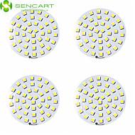 sencart 8W 42 x 5050smd ledet 650-750lm ledet taklamper for LED LED downlight tilbehør (DC12V 4pcs)