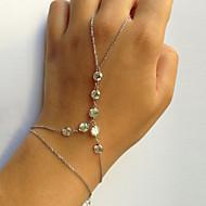 Women's Ring Bracelet / Slave bracelet - Ladies, Unique Design, Fashion Bracelet Jewelry Gold / Silver For Party Gift Valentine Cosplay Costumes