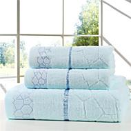 Badehåndkle SettBroderi Høy kvalitet 100% Bomull Håndkle