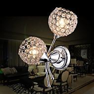 preiswerte Kristalle-Wandleuchten-Modern/Zeitgenössisch Wandlampen Für Metall Wandleuchte 110-120V 220-240V 40WW