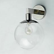 billige Krystall Vegglys-Moderne / Nutidig Vegglamper Til Metall Vegglampe 110-120V 220-240V MAX  60WW