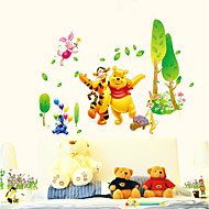 wall stickers wall decals stil Peter Plys paradis pvc wall stickers