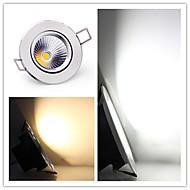 baratos Luzes LED de Encaixe-Lâmpada de Teto 1 LED de Alta Potência 500-600ml lm Branco Quente Branco Frio Regulável Decorativa AC 220-240 AC 110-130 V 1 pç
