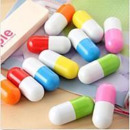söpö pilleri kapseli kuulakärkikynä uutuus teleskooppinen vitamiini pallo pallo satunnainen väri