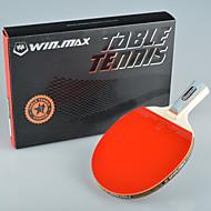 winmax® 1 hvězda jednolůžkový stolní tenis / ping-pong raketa krátká rukojeť s krabice barevné