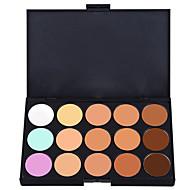 billiga Ögonskuggor-15 färger Ögonskuggor / Kaki Öga Concealer Naturlig Festmakeup / Sotig makeup Smink Kosmetisk / Matt / Skimmrig